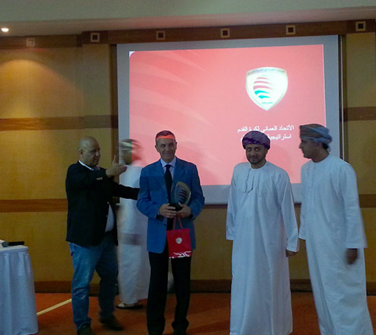 Referees' Seminar. Oman Football Association