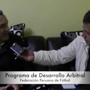 José María García-Aranda, TV interview. Referee Development Program (FPF)